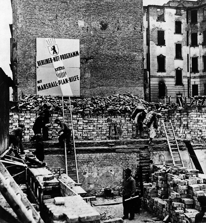 Helping europe help itself the marshall plan - The marshall plan was designed to ...