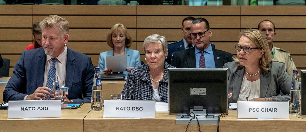 Working with NATO to Address Hybrid Threats