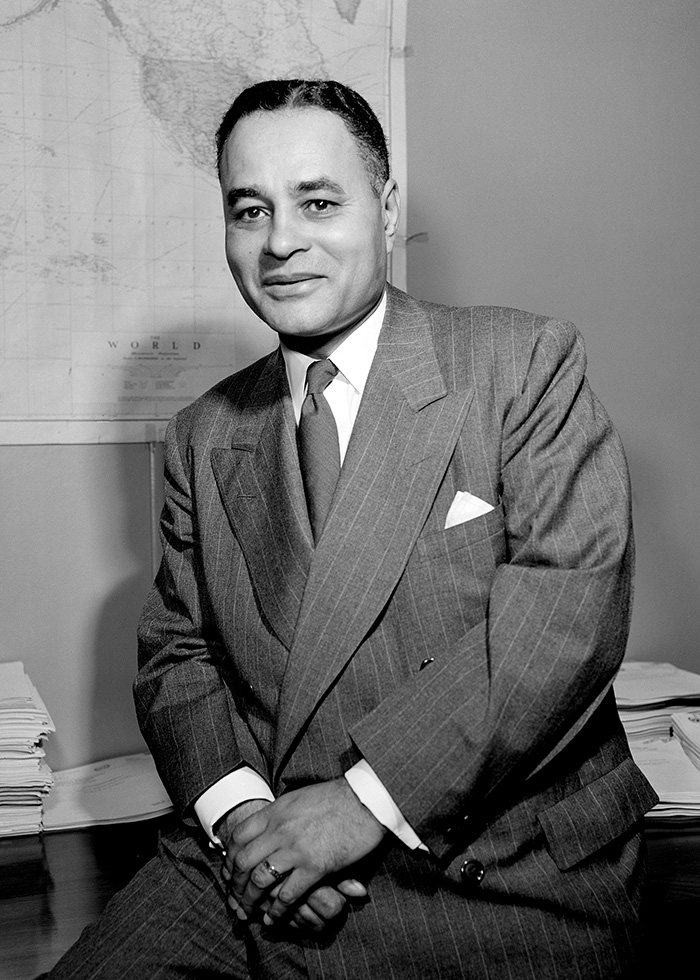 Ralph J. Bunche, U.N. Architect